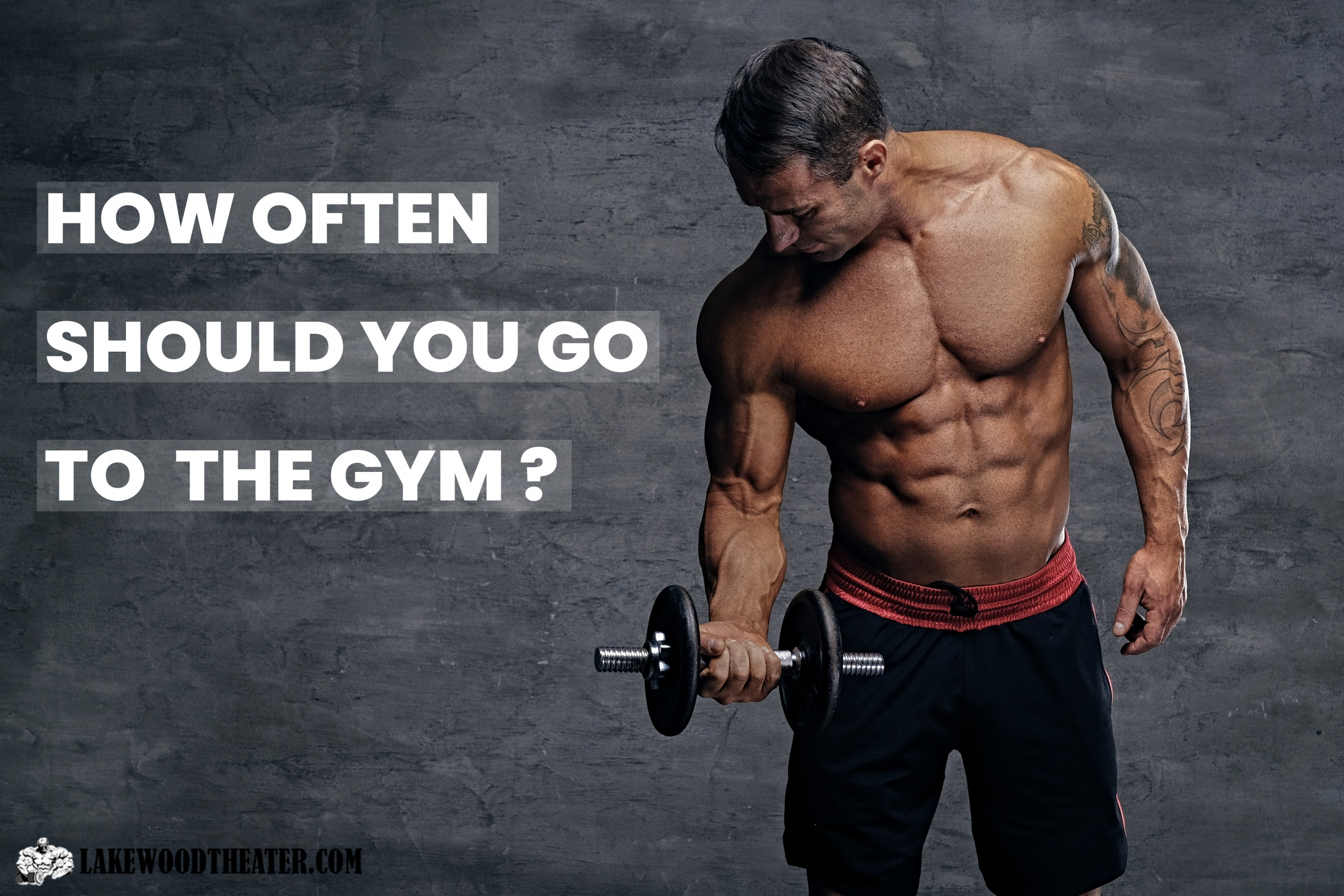How often should you go to the gym?